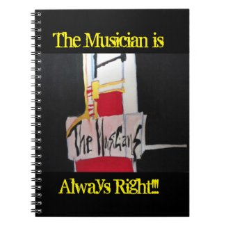 Sxisma-The Musicians Notebook-1 Notebook