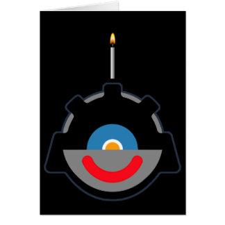 Sy-Clops Clupkitz Birthday Greeting, Earthling! Card