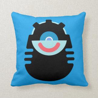 Sy-Clops Clupkitz on a Cushion Throw Pillow