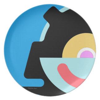 Sy-Clops Clupkitz Telero Melamine Plate