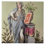 "Sybil de Cumae, no. 16 de ""Roma antigua"", engrav Teja"