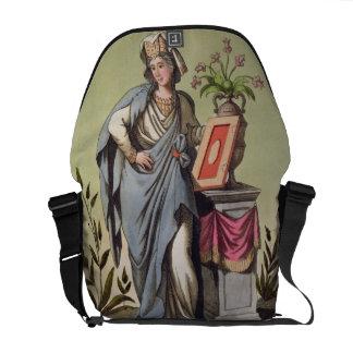 """Sybil de Cumae, no. 16 de """"Roma antigua"""", engrav Bolsa De Mensajería"""