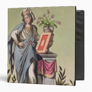 """Sybil de Cumae, no. 16 de """"Roma antigua"""", engrav"""