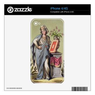 Sybil of Cumae, No. 16 from 'Antique Rome', engrav Decal For The iPhone 4S