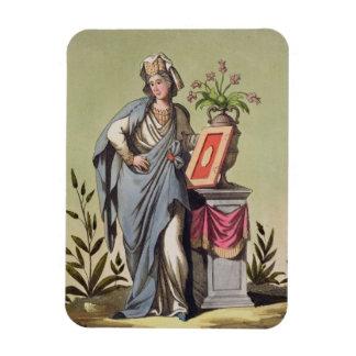 Sybil of Cumae, No. 16 from 'Antique Rome', engrav Magnet