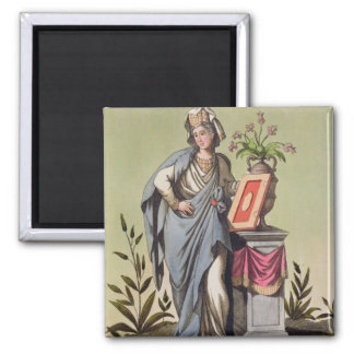 Sybil of Cumae, No. 16 from 'Antique Rome', engrav Magnet