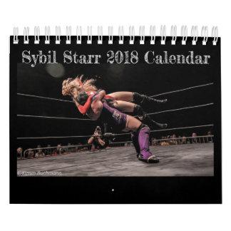 Sybil Starr 2018 Calendar