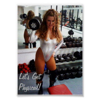 Sybil Starr Work Out Print