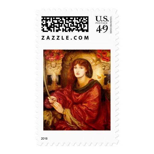 Sybilla Palmifella (The Soul's Beauty) Stamps