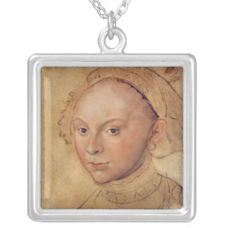 Sybille of Cleves Silver Plated Necklace