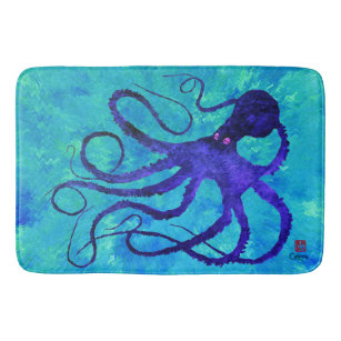 Sybille S Octopus Large Bath Mat