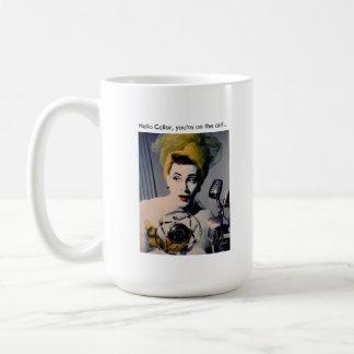 """Sybil's """"Hello Caller..."""" Mug."""