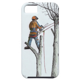 Sycamore and stihl 020t iPhone 5/5S case