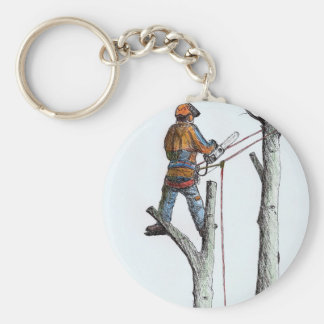 Sycamore and stihl 020t keychain