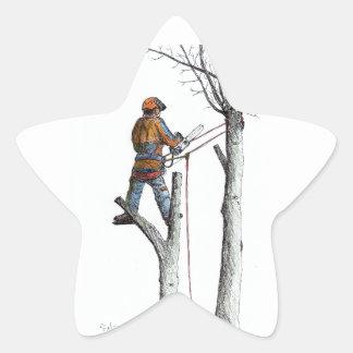 Sycamore and stihl 020t star sticker