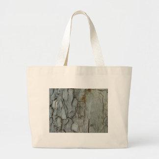 Sycamore Bark Jumbo Tote Bag