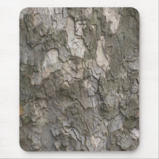 Sycamore bark mouse pad