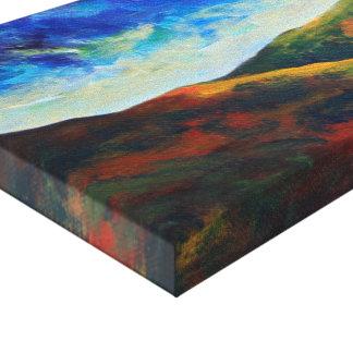 Sycamore Gap Canvas Print