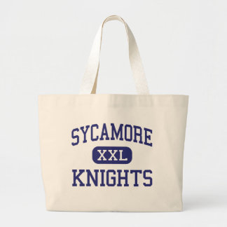 Sycamore Knights Middle Pleasant View Jumbo Tote Bag