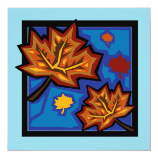 Sycamore Leaves Card