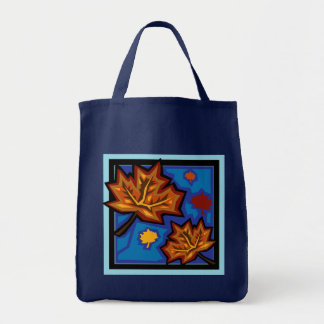 Sycamore Leaves Grocery Tote Bag