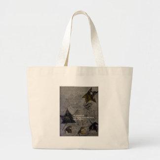 Sycamore Leaves Haiku Jumbo Tote Bag