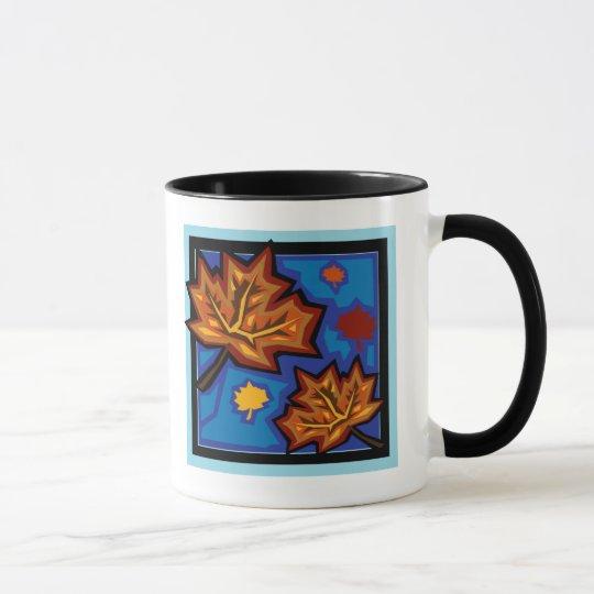 Sycamore Leaves Mug