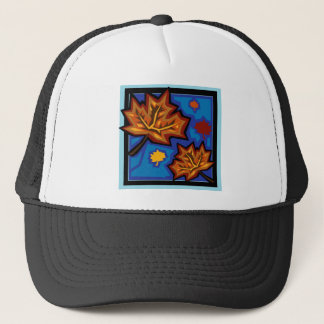Sycamore Leaves Trucker Hat