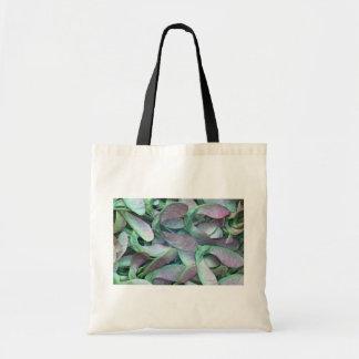 Sycamore seeds budget tote bag