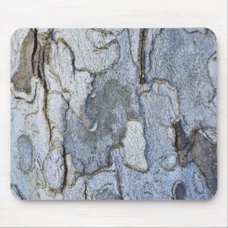 Sycamore Tree Bark Pattern Mouse Pad