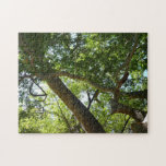 Sycamore Tree Green Nature Photography Jigsaw Puzzle