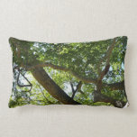 Sycamore Tree Green Nature Photography Throw Pillow
