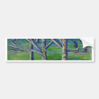 Sycamores at Central Park Bumper Sticker