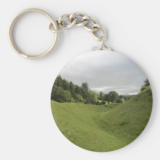 Sycharth Castle in Powys, Wales Key Chain