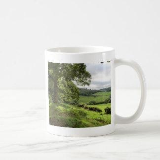 Sycharth in Powys, Wales, During Autumn Equinox Coffee Mug
