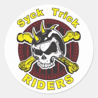 Syck Trick Rider Logo Sticker