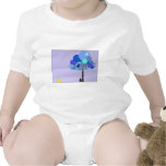 Syd and Blueberry customizable) Baby Bodysuit