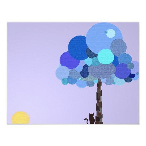 "Syd and Blueberry Invitation 4.25"" X 5.5"" Invitation Card"