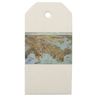 sydney1888 wooden gift tags