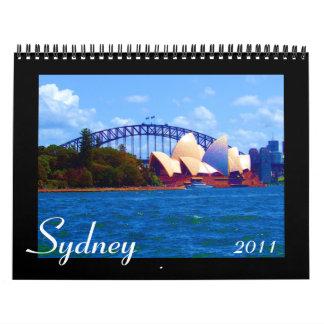 Sydney 2011 calendario de 18 meses