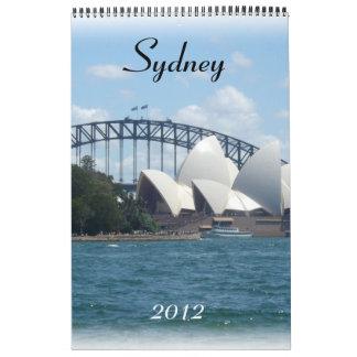 sydney 2012 calendar