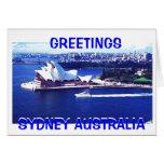 Sydney 2, SALUDOS, SYDNEY AUSTRALIA, SYDNEY… Tarjeton