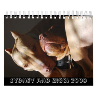 Sydney and Ziggi 2009 Calendar