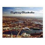 Sydney as seen from the Sydney Harbor Bridge Postcard
