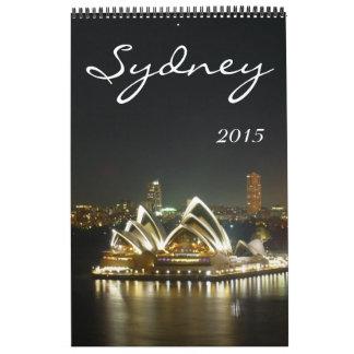sydney australia 2015 calendar