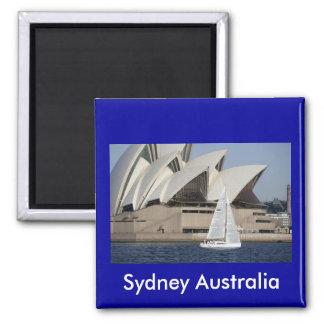 sydney australia 2 inch square magnet