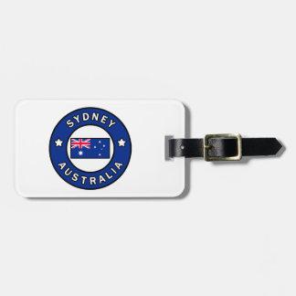 Sydney Australia Bag Tag