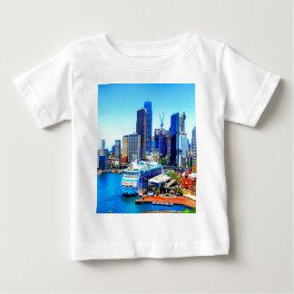 sydney australia buildings skyscrapers skyline baby T-Shirt