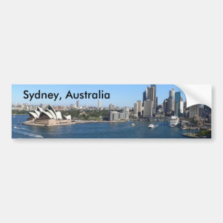 Sydney, Australia bumper sticker Car Bumper Sticker