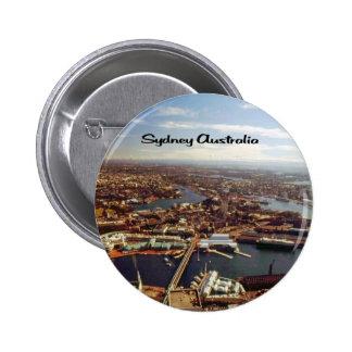 Sydney Australia Buttons